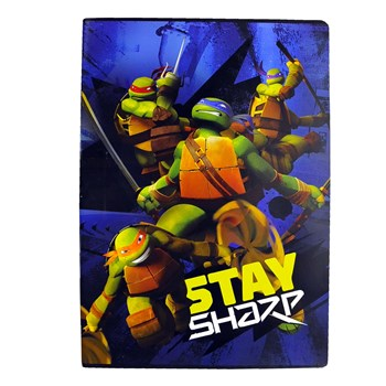 Quaderno Turtles A4 Rigatura A Fancy