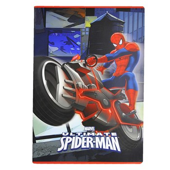 Quaderno Spiderman A4 Rigatura 10mm Hakan