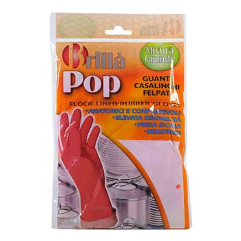 Guanti Felpati Lattice Pop Taglia L
