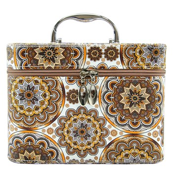 Beauty Ecopelle Arabesco Marrone cm.23x15x17